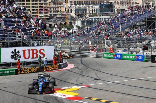 Esteban Ocon (FRA) Alpine F1 Team A521. 23.05.2021. Formula 1 World Championship, Rd 5, Monaco Grand Prix, Monte Carlo, Monaco, Race Day. - www.xpbimages.com, EMail: requests@xpbimages.com © Copyright: Charniaux / XPB Images