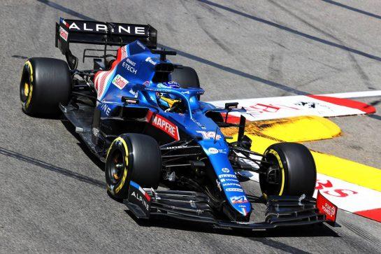 Fernando Alonso (ESP) Alpine F1 Team A521. 23.05.2021. Formula 1 World Championship, Rd 5, Monaco Grand Prix, Monte Carlo, Monaco, Race Day. - www.xpbimages.com, EMail: requests@xpbimages.com © Copyright: Charniaux / XPB Images