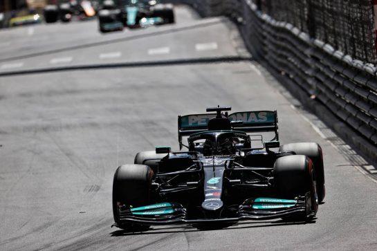 Lewis Hamilton (GBR) Mercedes AMG F1 W12. 23.05.2021. Formula 1 World Championship, Rd 5, Monaco Grand Prix, Monte Carlo, Monaco, Race Day. - www.xpbimages.com, EMail: requests@xpbimages.com © Copyright: Batchelor / XPB Images