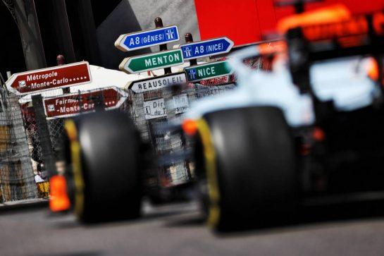 Daniel Ricciardo (AUS) McLaren MCL35M. 23.05.2021. Formula 1 World Championship, Rd 5, Monaco Grand Prix, Monte Carlo, Monaco, Race Day. - www.xpbimages.com, EMail: requests@xpbimages.com © Copyright: Batchelor / XPB Images