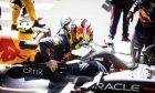 Sergio Perez (MEX) Red Bull Racing RB16B on the grid. 23.05.2021. Formula 1 World Championship, Rd 5, Monaco Grand Prix, Monte Carlo