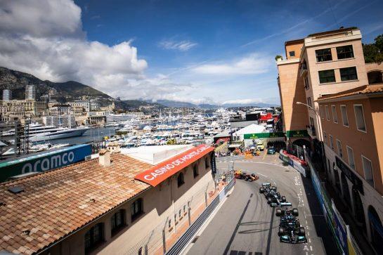 Lewis Hamilton (GBR) Mercedes AMG F1 W12. 23.05.2021. Formula 1 World Championship, Rd 5, Monaco Grand Prix, Monte Carlo, Monaco, Race Day. - www.xpbimages.com, EMail: requests@xpbimages.com © Copyright: Bearne / XPB Images