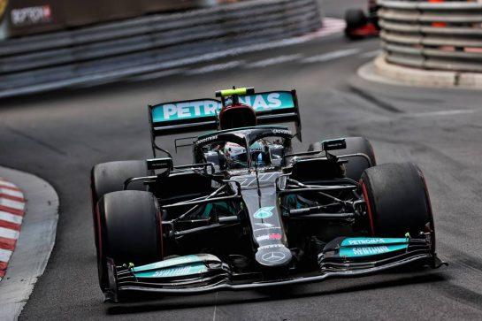 Valtteri Bottas (FIN) Mercedes AMG F1 W12. 23.05.2021. Formula 1 World Championship, Rd 5, Monaco Grand Prix, Monte Carlo, Monaco, Race Day. - www.xpbimages.com, EMail: requests@xpbimages.com © Copyright: Batchelor / XPB Images