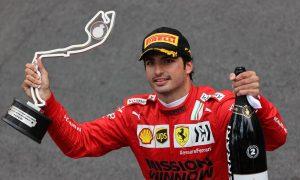 'First Ferrari podium doesn't taste as good as it should' - Sainz