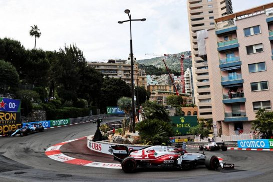 Antonio Giovinazzi (ITA) Alfa Romeo Racing C41. 23.05.2021. Formula 1 World Championship, Rd 5, Monaco Grand Prix, Monte Carlo, Monaco, Race Day. - www.xpbimages.com, EMail: requests@xpbimages.com © Copyright: Batchelor / XPB Images