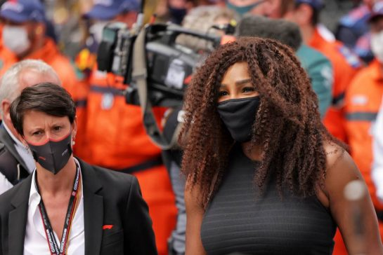 Serena Williams (USA) Tennis Player. 23.05.2021. Formula 1 World Championship, Rd 5, Monaco Grand Prix, Monte Carlo, Monaco, Race Day. - www.xpbimages.com, EMail: requests@xpbimages.com © Copyright: Bearne / XPB Images