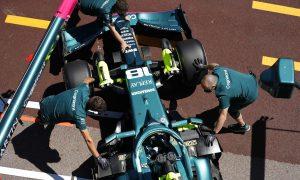 Szafnauer: P3 target for Aston Martin now 'a step too far'