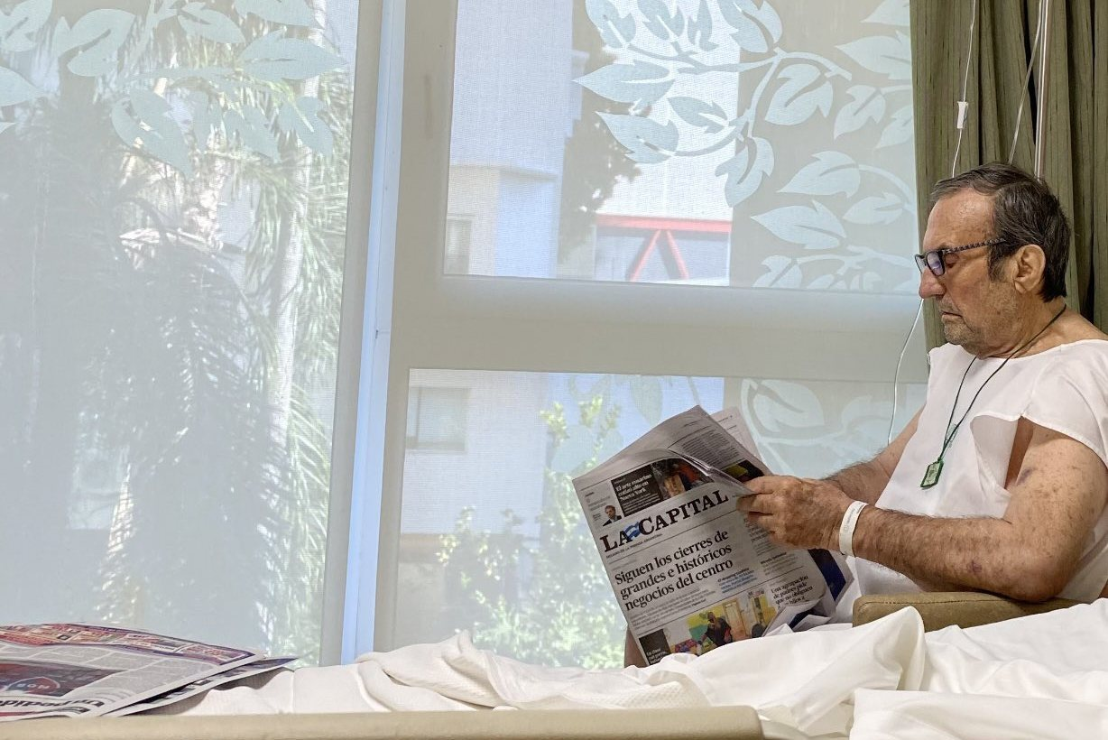 Reutemann transferred out of ICU as condition improves