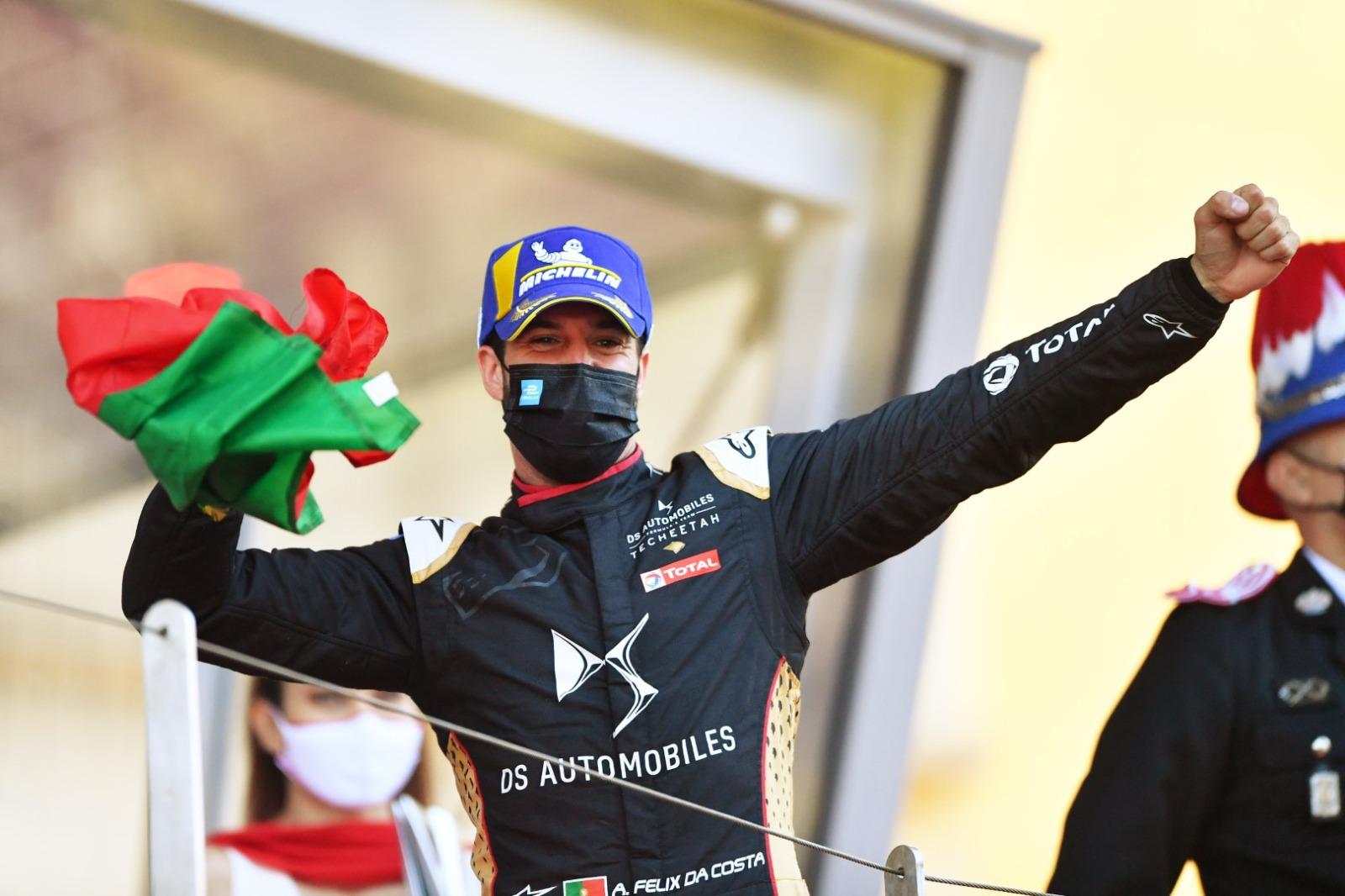 Monaco EPrix: Da Costa snatches thrilling win on final lap