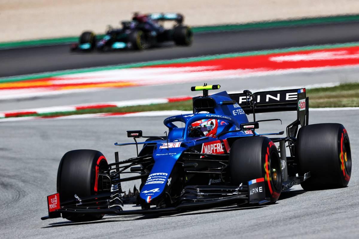 Ocon: P5 in qualifying confirms Alpine step forward