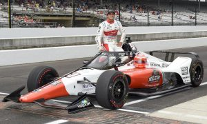 Fastest rookie Fittipaldi ready for Indy 500 debut