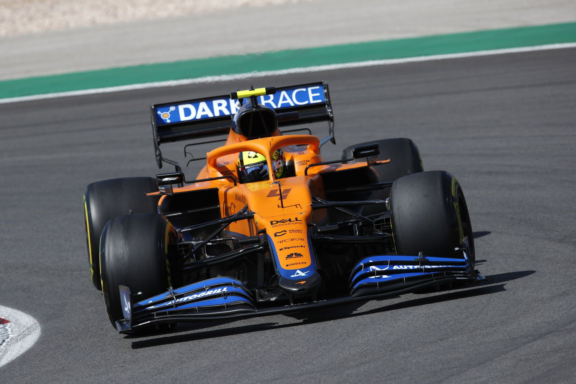 Midfield leader Norris still learning how to drive 'tricky' McLaren