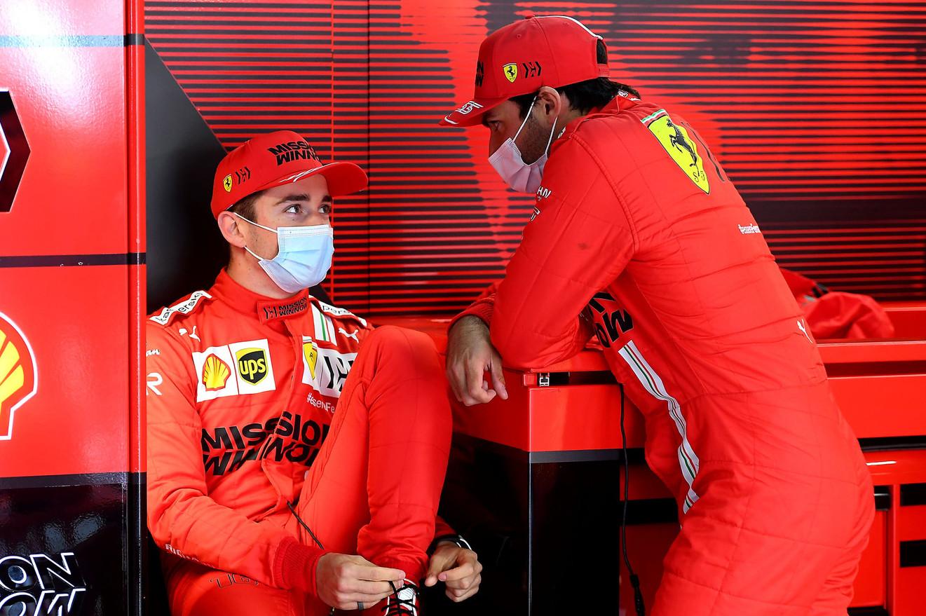 Leclerc notes 'different mood' at Ferrari since Vettel exit