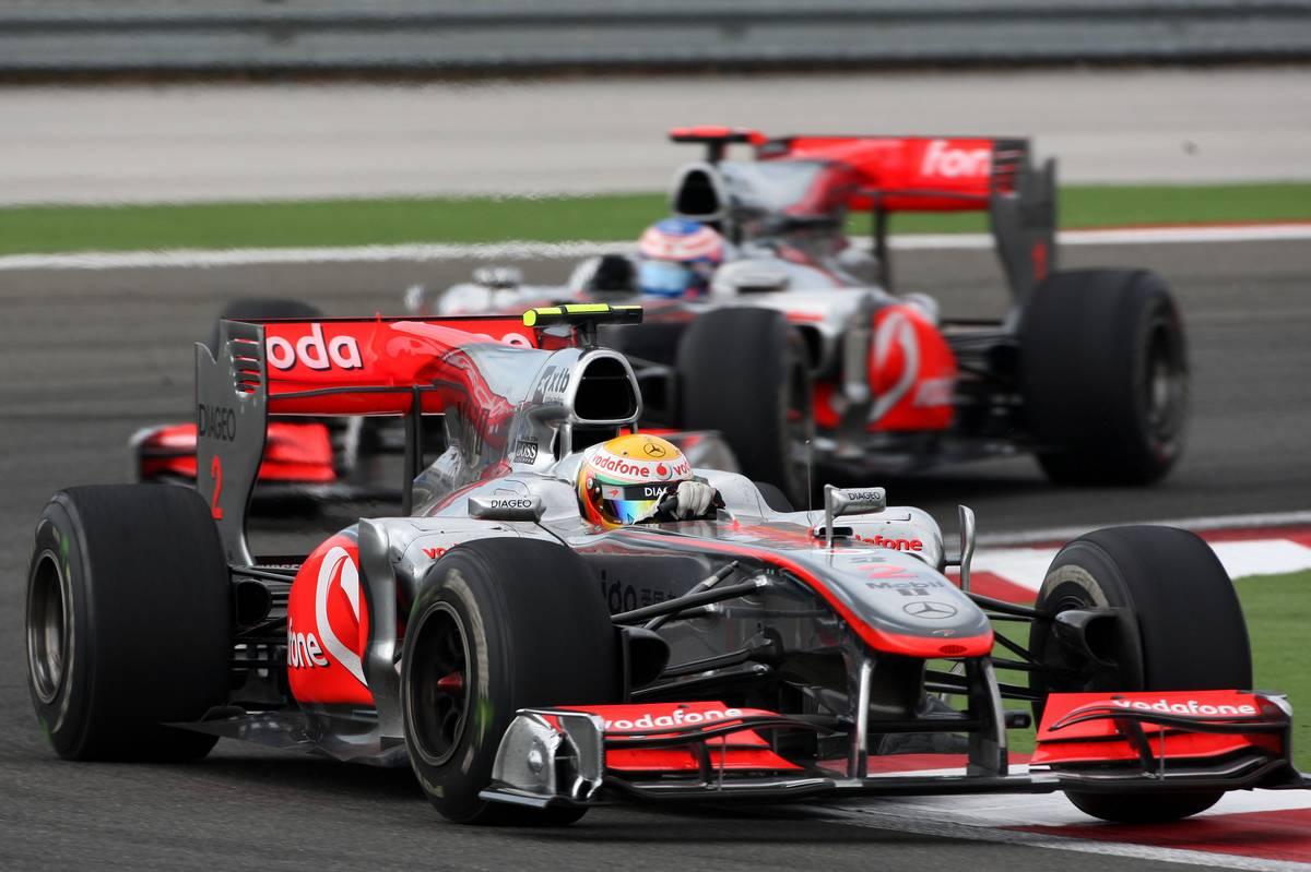 Hamilton's winning 2010 McLaren up for auction