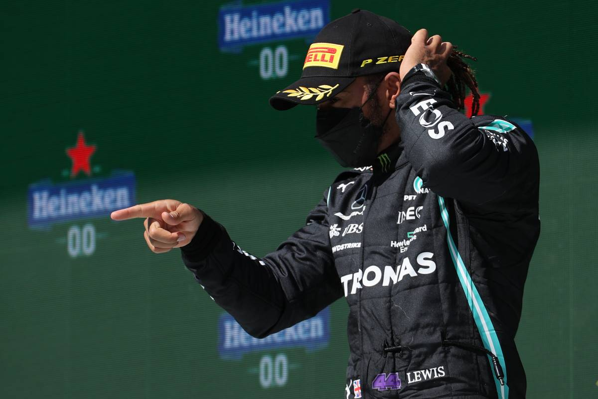 Wolff: 'Exceptional performances' now Hamilton's standard