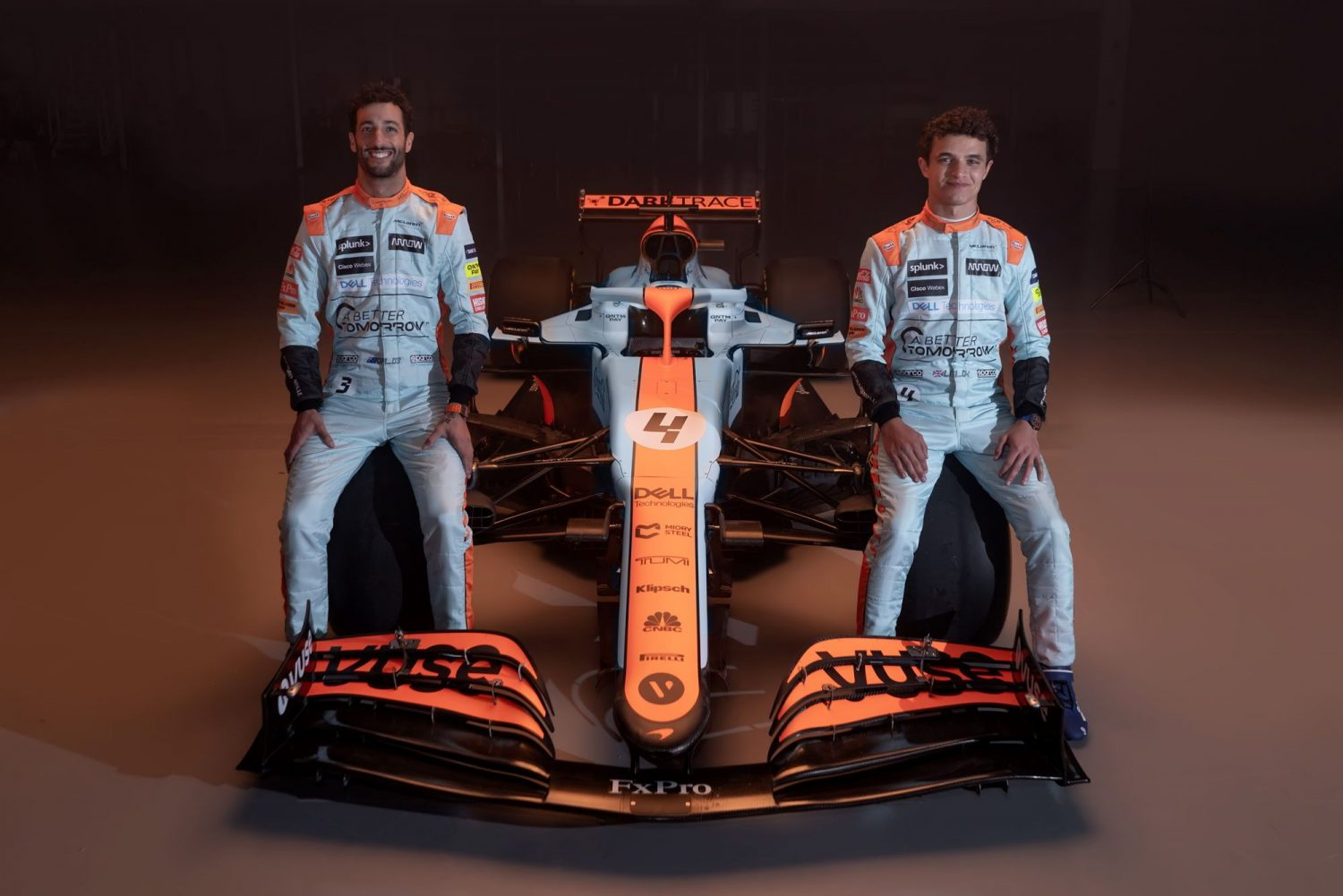 McLaren goes retro for Monaco with one-off Gulf livery!