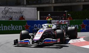 Schumacher 'comfortable' with car despite FP2 crash