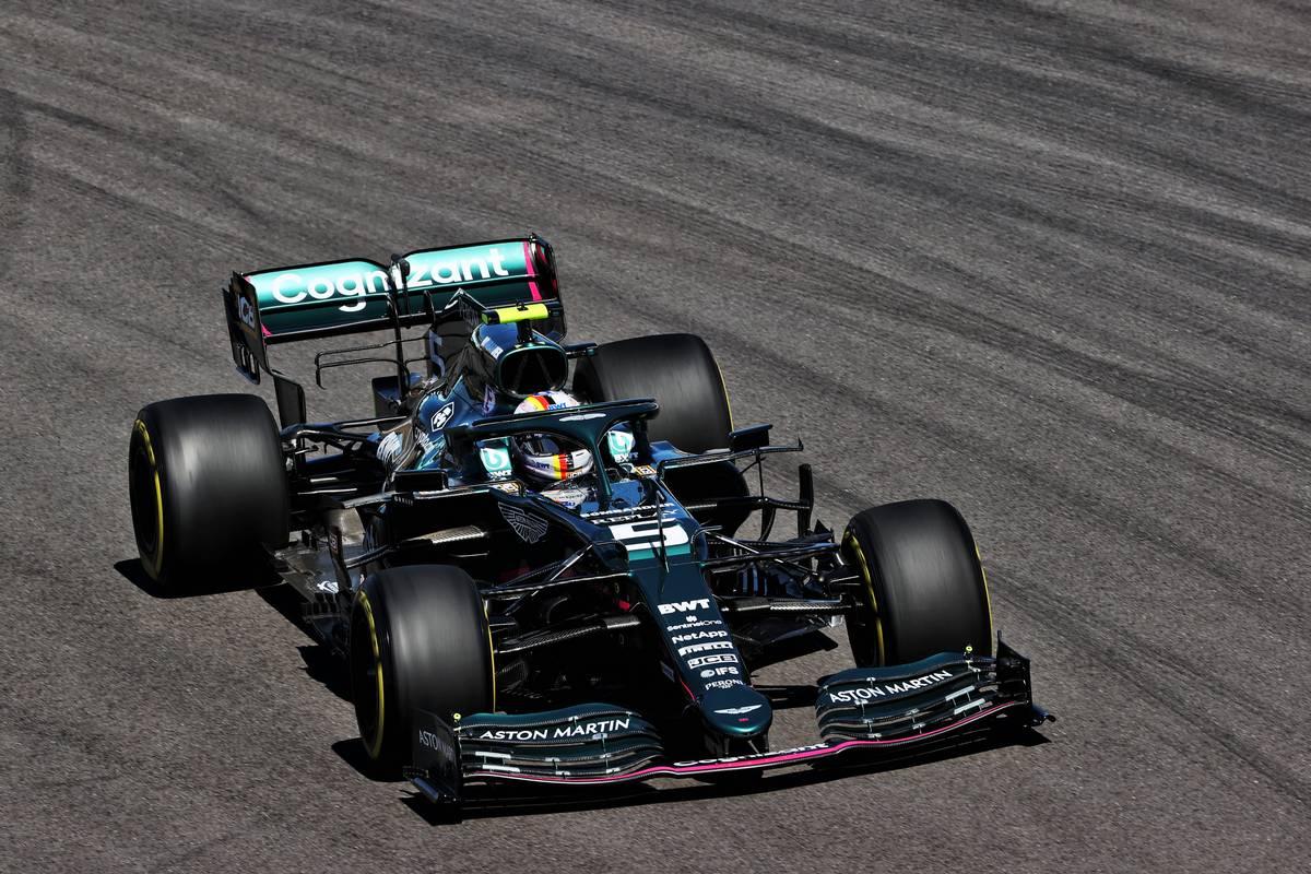 Aston Martin to field updated AMR21 for Vettel in Barcelona