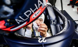Confused Tsunoda puts 'question mark' on AlphaTauri car, but apologises to team