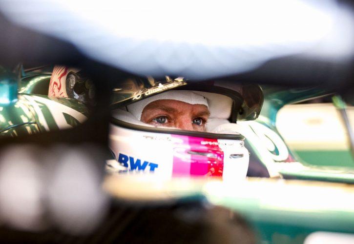 Sebastian Vettel (GER) Aston Martin F1 Team AMR21. 18.06.2021. Formula 1 World Championship, Rd 7, French Grand Prix, Paul Ricard, France, Practice Day.