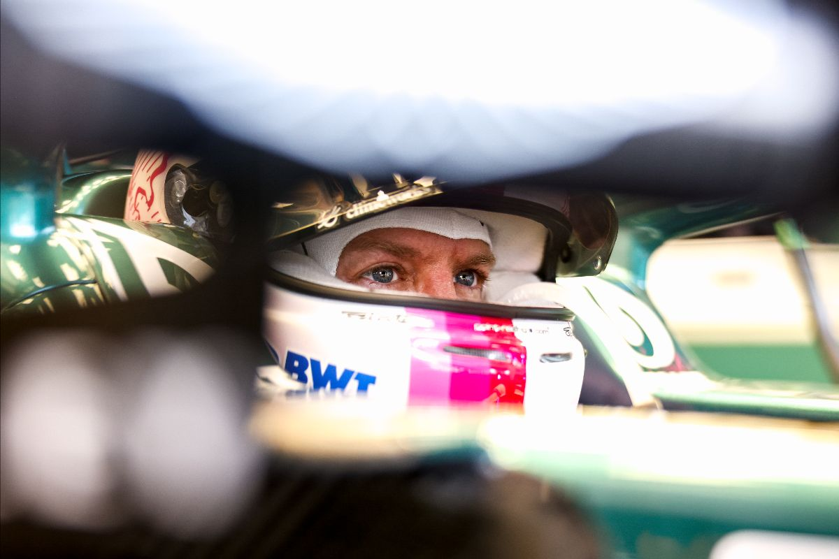 Vettel shrugs off Friday mishaps, targets Saturday pace