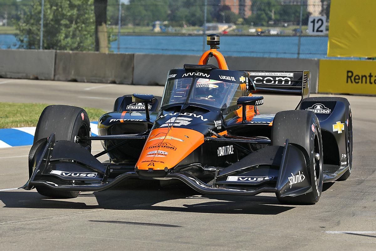 Pato O'Ward - Chevrolet Grand Prix of Detroit
