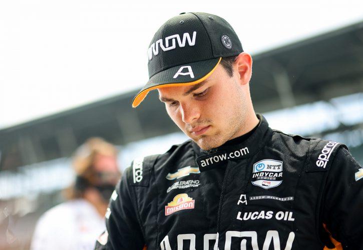Pato O'Ward - Indianapolis 500 Practice
