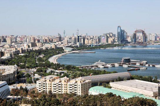 Scenic Baku. 03.06.2021. Formula 1 World Championship, Rd 6, Azerbaijan Grand Prix, Baku Street Circuit, Azerbaijan, Preparation Day. - www.xpbimages.com, EMail: requests@xpbimages.com © Copyright: Batchelor / XPB Images