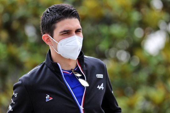 Esteban Ocon (FRA) Alpine F1 Team. 04.06.2021. Formula 1 World Championship, Rd 6, Azerbaijan Grand Prix, Baku Street Circuit, Azerbaijan, Practice Day. - www.xpbimages.com, EMail: requests@xpbimages.com © Copyright: Batchelor / XPB Images