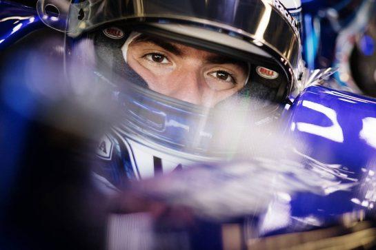 Nicholas Latifi (CDN) Williams Racing FW43B. 04.06.2021. Formula 1 World Championship, Rd 6, Azerbaijan Grand Prix, Baku Street Circuit, Azerbaijan, Practice Day. - www.xpbimages.com, EMail: requests@xpbimages.com © Copyright: Bearne / XPB Images