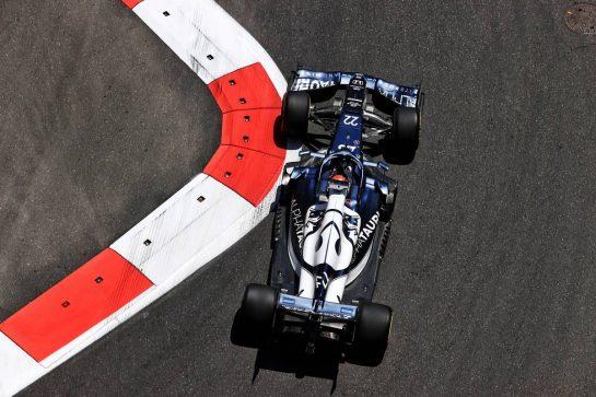 Yuki Tsunoda (JPN) AlphaTauri AT02. 04.06.2021. Formula 1 World Championship, Rd 6, Azerbaijan Grand Prix, Baku Street Circuit, Azerbaijan, Practice Day. - www.xpbimages.com, EMail: requests@xpbimages.com © Copyright: Moy / XPB Images