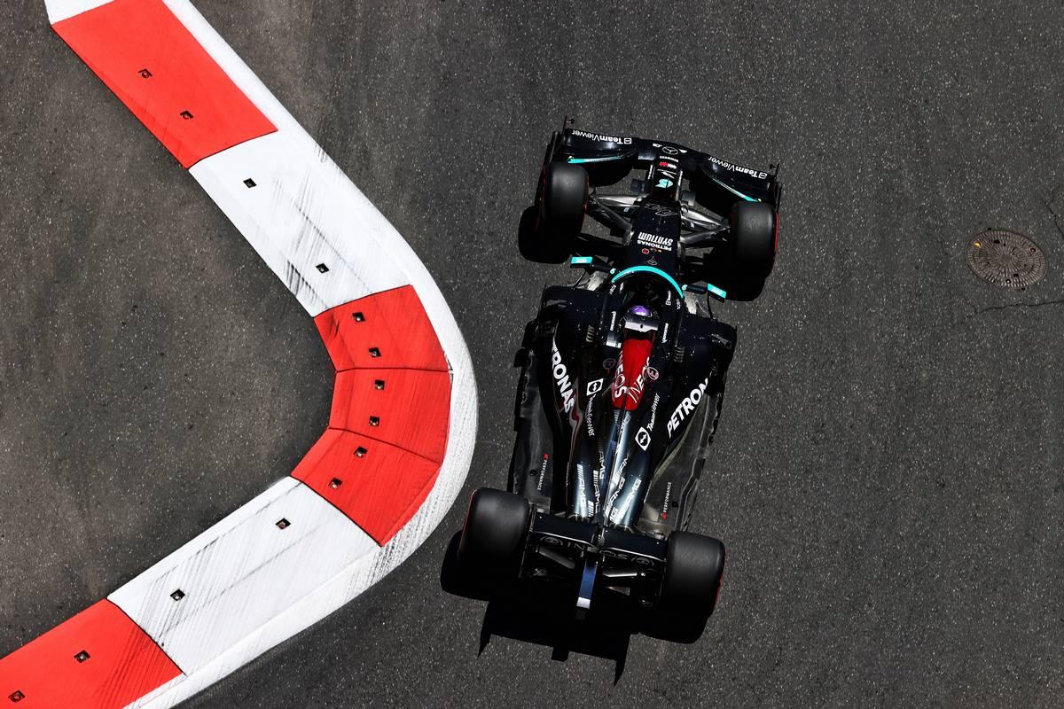 Lewis Hamilton (GBR) Mercedes AMG F1 W12. 04.06.2021. Formula 1 World Championship, Rd 6, Azerbaijan Grand Prix, Baku