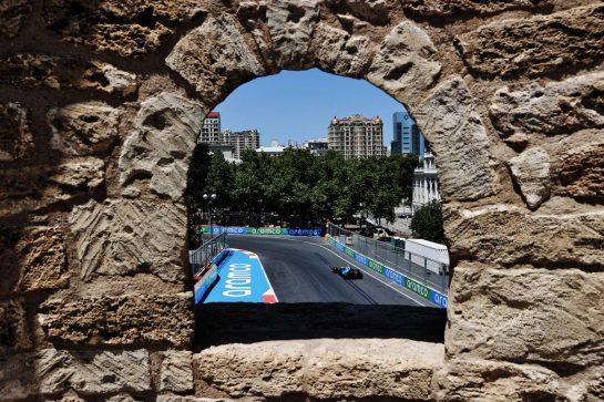 Nicholas Latifi (CDN) Williams Racing FW43B. 04.06.2021. Formula 1 World Championship, Rd 6, Azerbaijan Grand Prix, Baku Street Circuit, Azerbaijan, Practice Day. - www.xpbimages.com, EMail: requests@xpbimages.com © Copyright: Batchelor / XPB Images