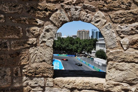 Lance Stroll (CDN) Aston Martin F1 Team AMR21. 04.06.2021. Formula 1 World Championship, Rd 6, Azerbaijan Grand Prix, Baku Street Circuit, Azerbaijan, Practice Day. - www.xpbimages.com, EMail: requests@xpbimages.com © Copyright: Batchelor / XPB Images