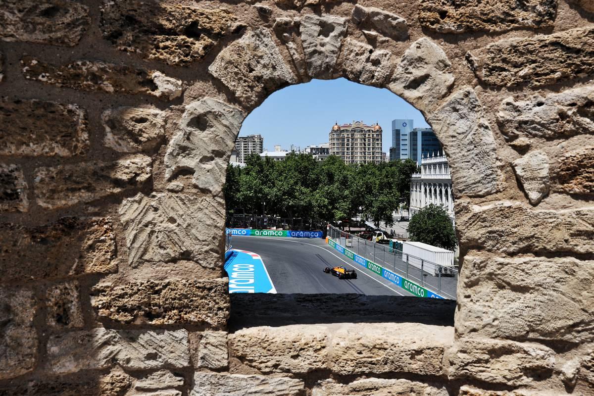 Lando Norris (GBR) McLaren MCL35M. 04.06.2021. Formula 1 World Championship, Rd 6, Azerbaijan Grand Prix, Baku