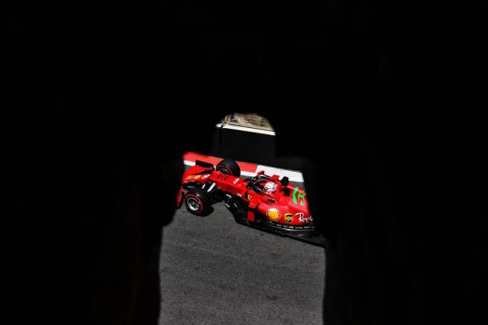 Charles Leclerc (MON) Ferrari SF-21. 04.06.2021. Formula 1 World Championship, Rd 6, Azerbaijan Grand Prix, Baku Street Circuit, Azerbaijan, Practice Day. - www.xpbimages.com, EMail: requests@xpbimages.com © Copyright: Batchelor / XPB Images