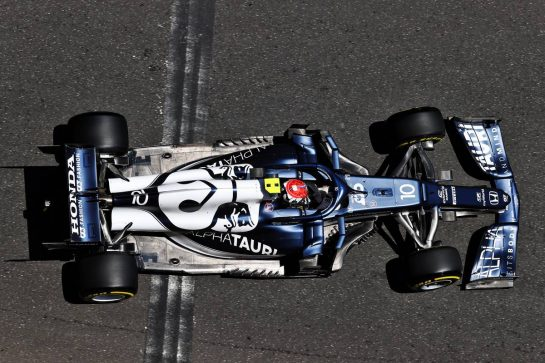 Pierre Gasly (FRA) AlphaTauri AT02. 04.06.2021. Formula 1 World Championship, Rd 6, Azerbaijan Grand Prix, Baku Street Circuit, Azerbaijan, Practice Day. - www.xpbimages.com, EMail: requests@xpbimages.com © Copyright: Moy / XPB Images