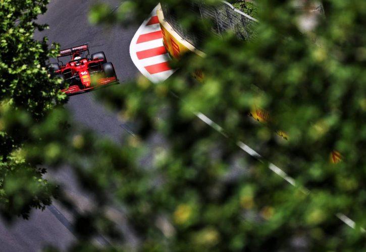 Charles Leclerc (MON) Ferrari SF-21. 04.06.2021. Formula 1 World Championship, Rd 6, Azerbaijan Grand Prix, Baku