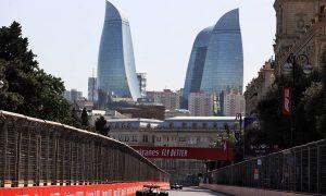 2021 Azerbaijan Grand Prix Free Practice 2 - Results