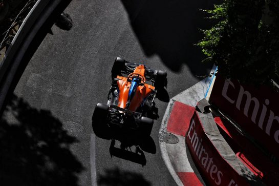 Daniel Ricciardo (AUS) McLaren MCL35M. 04.06.2021. Formula 1 World Championship, Rd 6, Azerbaijan Grand Prix, Baku Street Circuit, Azerbaijan, Practice Day. - www.xpbimages.com, EMail: requests@xpbimages.com © Copyright: Batchelor / XPB Images