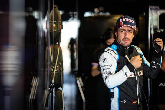 Fernando Alonso (ESP) Alpine F1 Team. 04.06.2021. Formula 1 World Championship, Rd 6, Azerbaijan Grand Prix, Baku Street Circuit, Azerbaijan, Practice Day. - www.xpbimages.com, EMail: requests@xpbimages.com © Copyright: Charniaux / XPB Images
