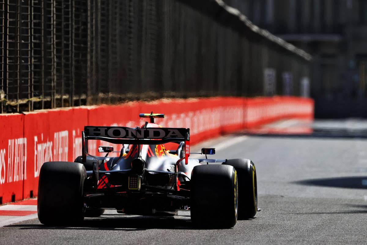 Sergio Perez (MEX) Red Bull Racing RB16B. 04.06.2021. Formula 1 World Championship, Rd 6, Azerbaijan Grand Prix, Baku
