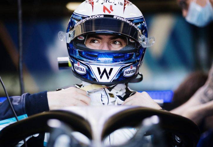Nicholas Latifi (CDN) Williams Racing FW43B. 04.06.2021. Formula 1 World Championship, Rd 6, Azerbaijan Grand Prix, Baku