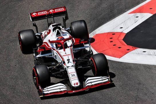 Kimi Raikkonen (FIN) Alfa Romeo Racing C41. 05.06.2021. Formula 1 World Championship, Rd 6, Azerbaijan Grand Prix, Baku Street Circuit, Azerbaijan, Qualifying Day. - www.xpbimages.com, EMail: requests@xpbimages.com © Copyright: Batchelor / XPB Images