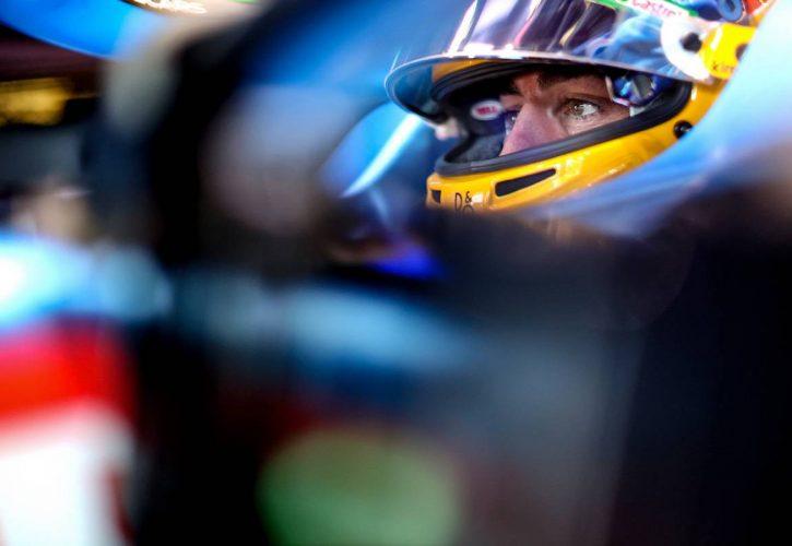 Fernando Alonso (ESP) Alpine F1 Team A521. 05.06.2021. Formula 1 World Championship, Rd 6, Azerbaijan Grand Prix, Baku