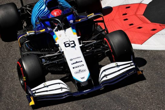 George Russell (GBR) Williams Racing FW43B. 05.06.2021. Formula 1 World Championship, Rd 6, Azerbaijan Grand Prix, Baku Street Circuit, Azerbaijan, Qualifying Day. - www.xpbimages.com, EMail: requests@xpbimages.com © Copyright: Batchelor / XPB Images