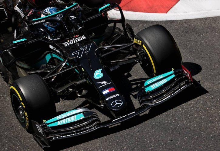 Valtteri Bottas (FIN) Mercedes AMG F1 W12. 05.06.2021. Formula 1 World Championship, Rd 6, Azerbaijan Grand Prix, Baku