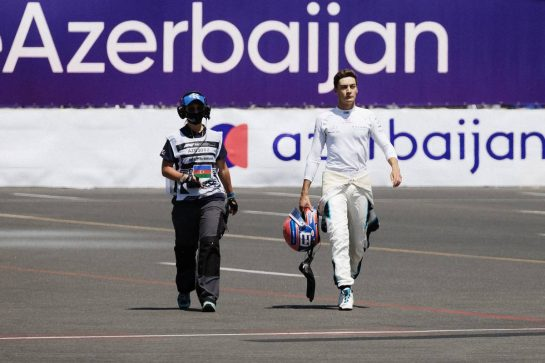 George Russell (GBR) Williams Racing. 05.06.2021. Formula 1 World Championship, Rd 6, Azerbaijan Grand Prix, Baku Street Circuit, Azerbaijan, Qualifying Day. - www.xpbimages.com, EMail: requests@xpbimages.com © Copyright: Bearne / XPB Images