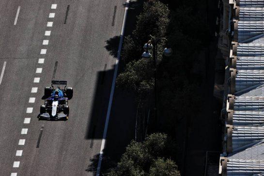 Nicholas Latifi (CDN) Williams Racing FW43B. 05.06.2021. Formula 1 World Championship, Rd 6, Azerbaijan Grand Prix, Baku Street Circuit, Azerbaijan, Qualifying Day. - www.xpbimages.com, EMail: requests@xpbimages.com © Copyright: Batchelor / XPB Images