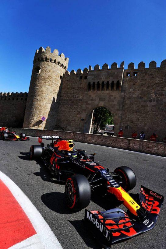 Sergio Perez (MEX) Red Bull Racing RB16B. 05.06.2021. Formula 1 World Championship, Rd 6, Azerbaijan Grand Prix, Baku Street Circuit, Azerbaijan, Qualifying Day. - www.xpbimages.com, EMail: requests@xpbimages.com © Copyright: Moy / XPB Images